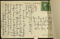 [116], post card, closeup, verso